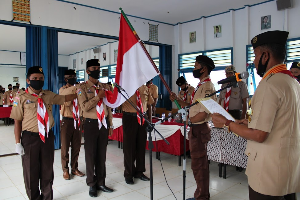 Pengurus Mabiran, Kwarran dan LPK Gerakan Pramuka Kuala Jambi Resmi Dilantik