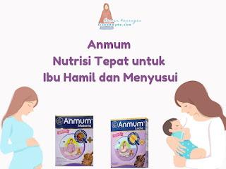 Anmum nutrisi tepat untuk ibu hamil dan menyusui