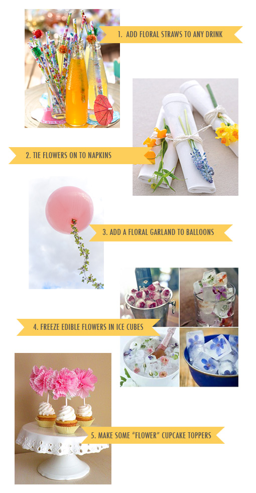 5 easy spring party decoration ideas