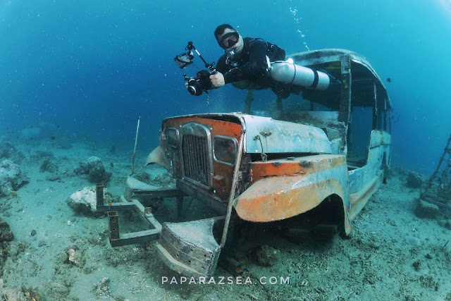 Underwater Photography, acuba diving, paparazsea, philippines