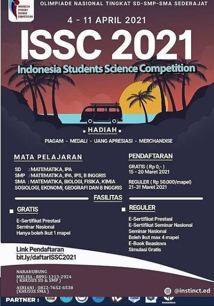 INDONESIA STUDENTS SCIENCE COMPETITION