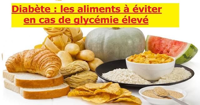 Diabète : les aliments à éviter en cas de glycémie élevé
