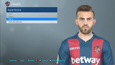 PES 2019 Faces Borja Mayoral by Lucas Facemaker