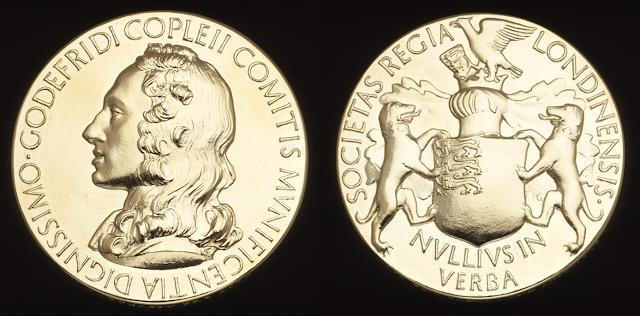 Resultado de imagem para Medalha Copley