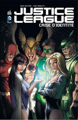 couverture de l'album Justice League, crise d'identité