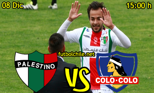 Ver stream hd youtube facebook movil android ios iphone table ipad windows mac linux resultado en vivo, online:  Palestino vs Colo Colo
