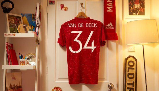 Van De Beek Resmi Direkrut Manchester United, Kenapa Pilih Nomor Punggung 34?