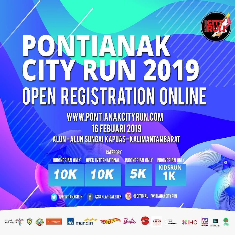 Pontianak City Run • 2019