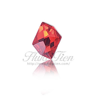 Irregular Diamond 2-SIDE Acrylic stone