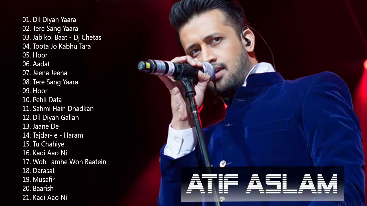atif aslam hit songs list mp3 free download