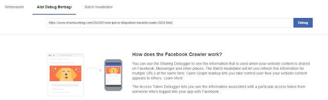 Cara Menampilkan Gambar Blog di Facebook Saat di Share