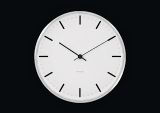 CITY HALL  WALL CLOCK ARNE JACOBSEN