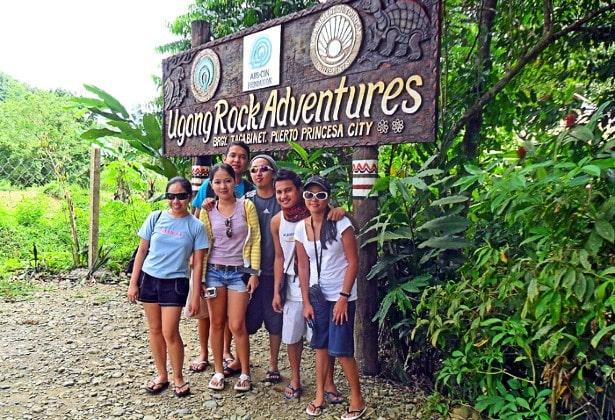 Ugong Rock spelunking Palawan