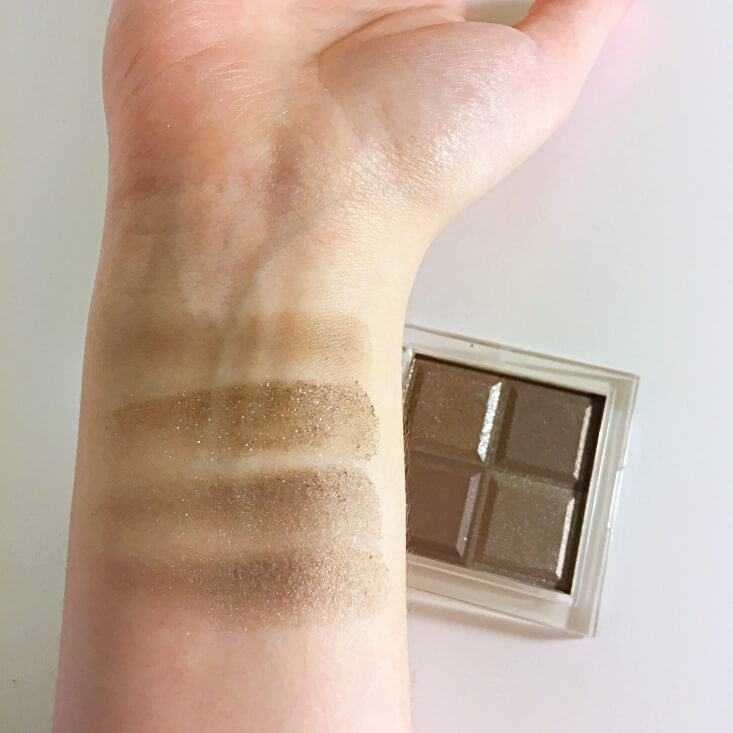 Almay Shadow Squad Cause a Stir swatches
