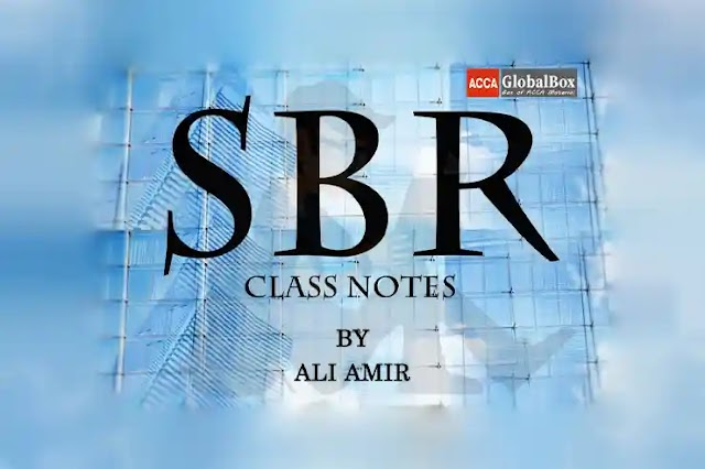 SBR | Class Notes - by ALI AMIR | 2020-2021