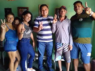 Grandes amigos dizem sim ao nosso projeto, comemora o pré-candidato a vereador de Cacimba de Dentro Tiago da EMATER