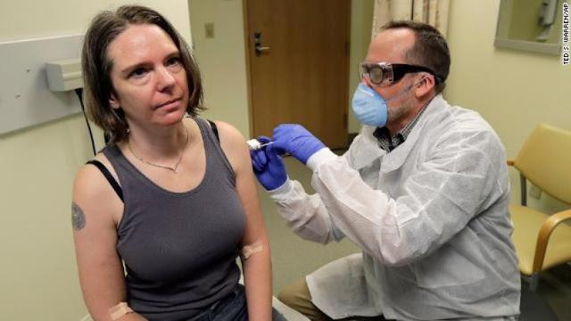 تجربة لقاح فيروس كورونا.. الجرعة الأولى تعطي  للمتطوع