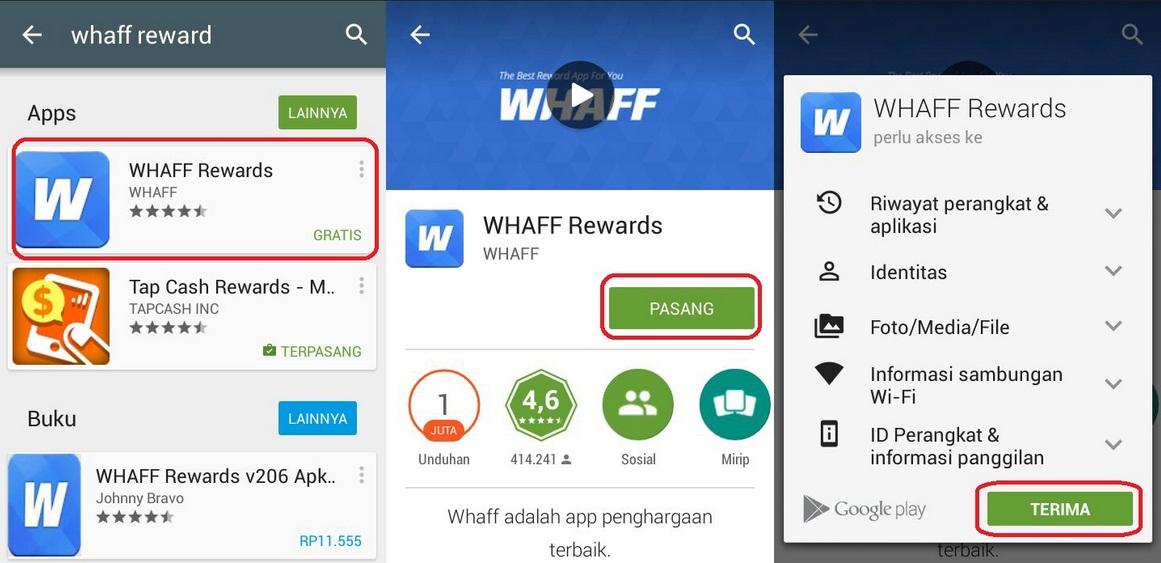 Cara Mendapatkan Uang dari Whaff Rewards Hingga $20 Per Hari