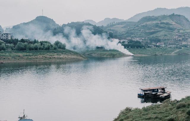 Xiangxi Hibiscus ancient town (China)