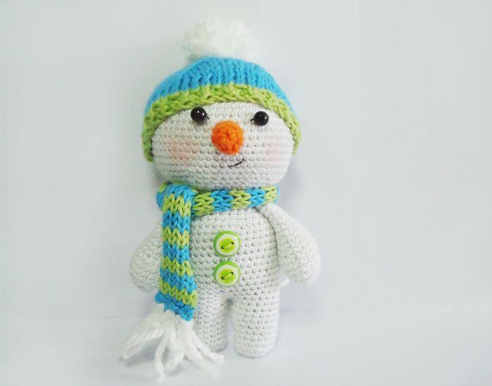 Santa Amigurumi Crochet Pattern Free - Funcolor Craft