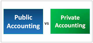 The Difference Between Public And Private Accounting