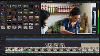 aplikasi pengeditan video terbaik Davinci resolve 17