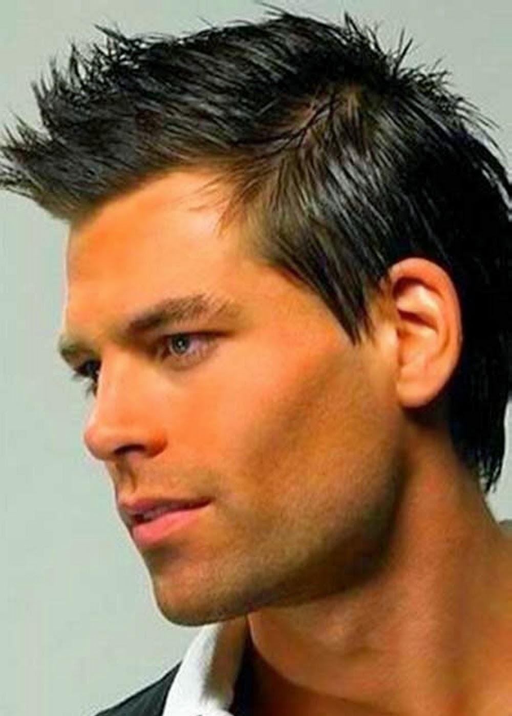 trends short romance hairstyles for men 2014   romance