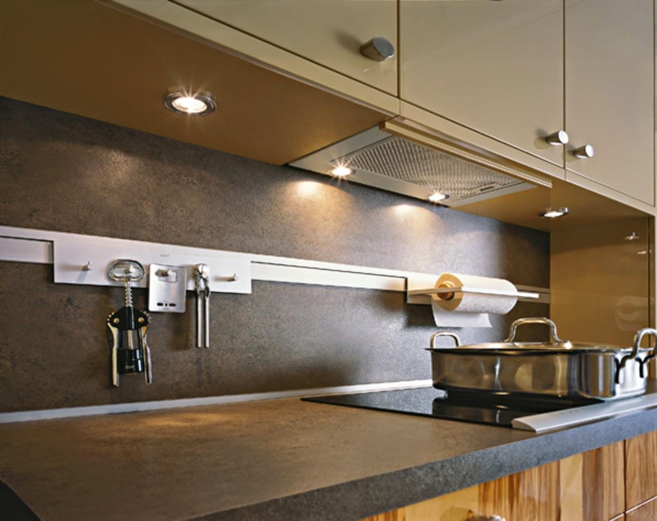 Accesorios de cocina para la pared para tener todo a mano  Cocinas con estilo