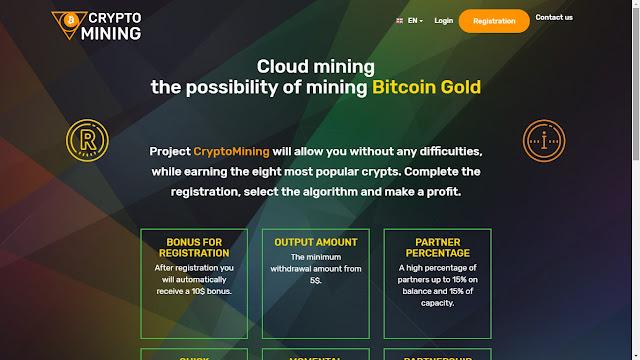 Cloud mining hỗ trợ đào Bitcoin gold