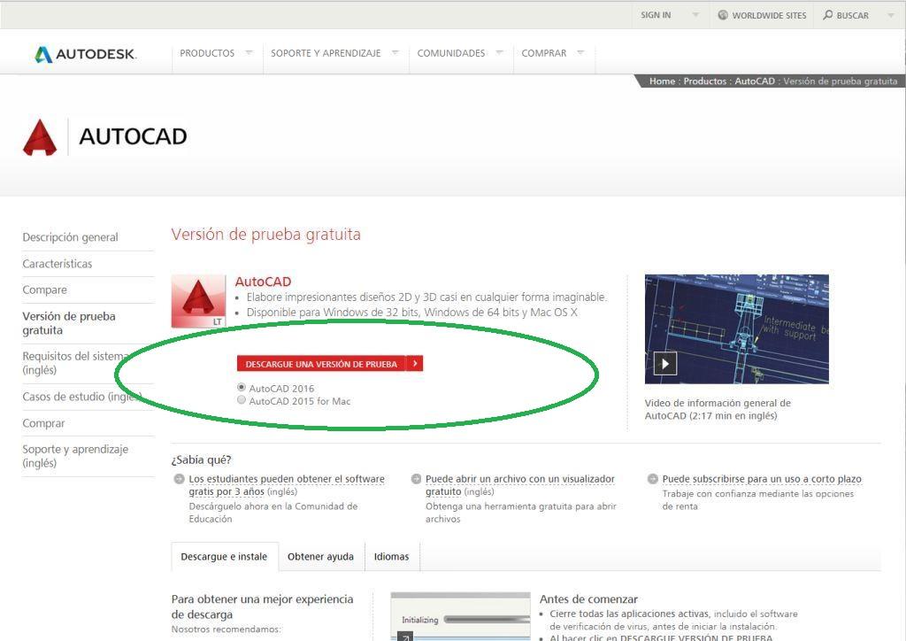 Para actualizar el software   Buscar   Autodesk Knowledge ...