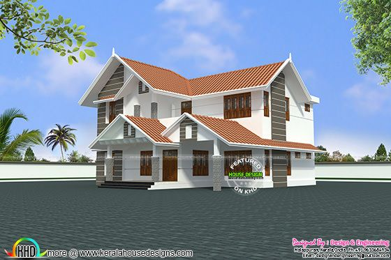 1796 sq-ft Kerala home design