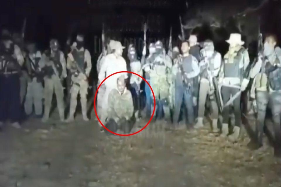 Video: Sicarios del CJNG levantan a Sicario de Elite del Grupo Flechas del Cártel de Sinaloa en Zacatecas, el Mencho envía mensaje al Mayo Zambada