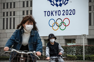 Olympics Games Tokyo 2020- POSTPONED by a Year