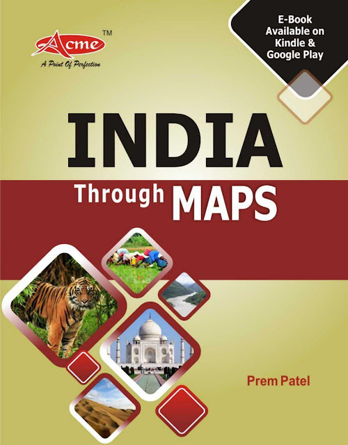 India Through Map : for all Competitive Exams PDF