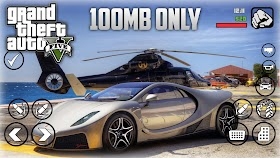 GTA V ANDROID - 100MB MODPACK - HARD GAMERX