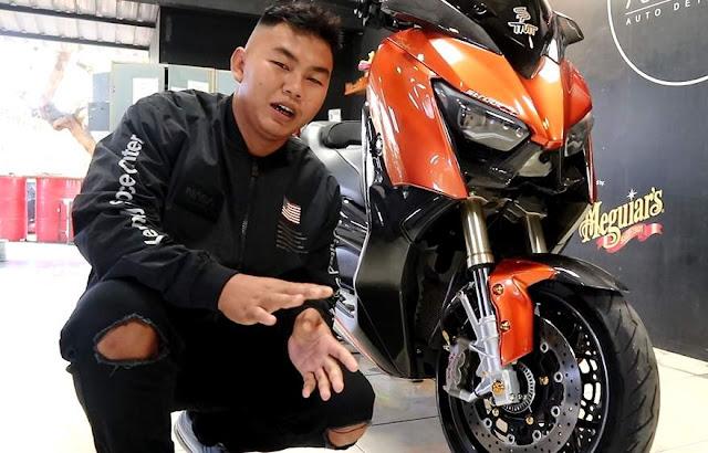 Modifikasi Xmax 250 Hedon Bali