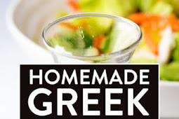 Homemade Greek Vinaigrette