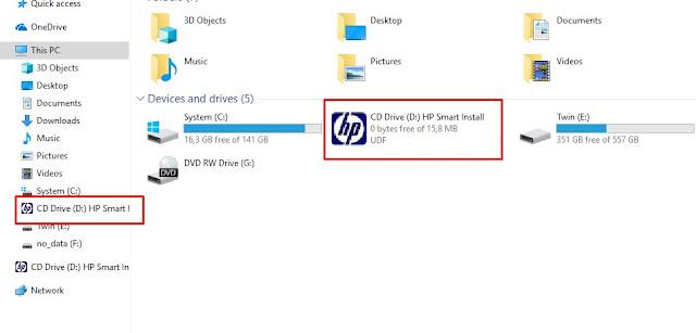 cara instal driver printer hp laserjet p1102