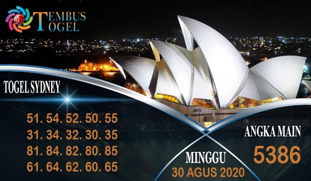 Bocoran Angka Togel Sidney Minggu 30 Agustus 2020