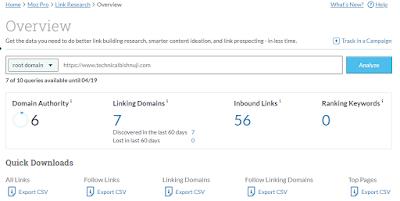 What is Domain Authority (DA), Domain Authority score,technical bishnuji
