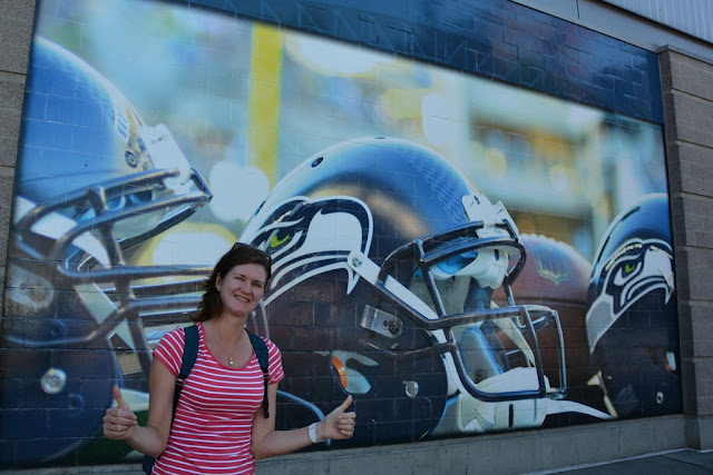 Century Link Field Seattle graffiti