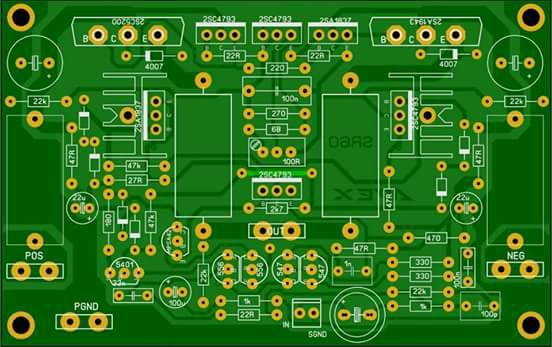 PCB Layout Power Apex SR60