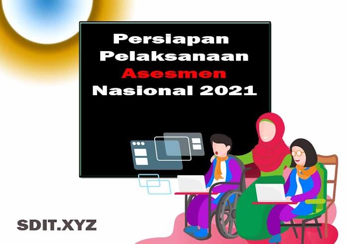 Persiapan Pelaksanaan Asesmen Nasional 2021