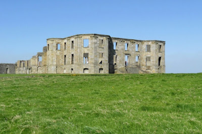 Ruined House at Downhill Demesne in Northern Ireland