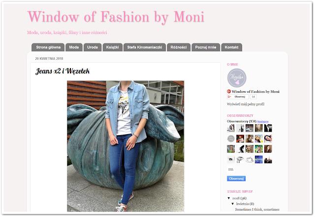 Window of Fashion by Moni- podsumowanie kwietnia