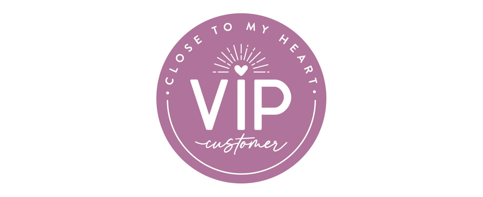 Sign up to be a VIP customer