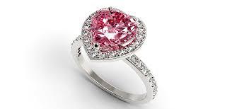 cincin tunangan Batu licin