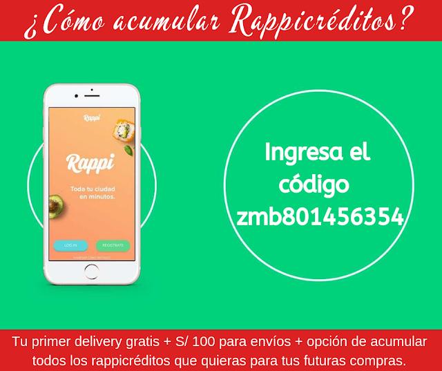 Codigo de descuento de rappi - apps de delivery con comida gratis