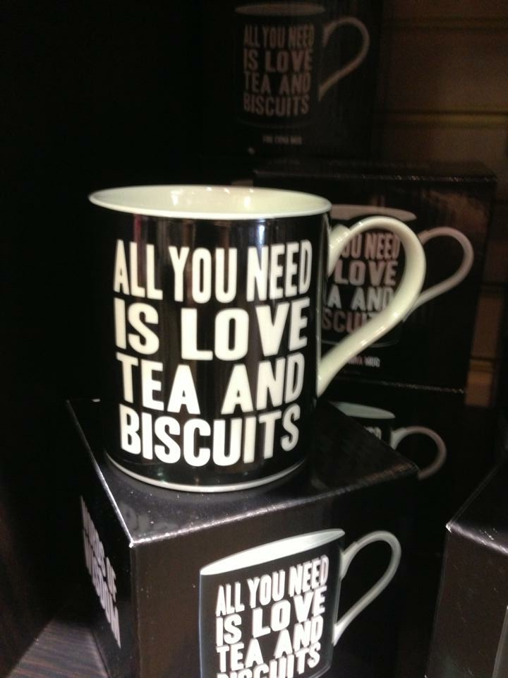 Mug - all you need is love and tea and biscuits