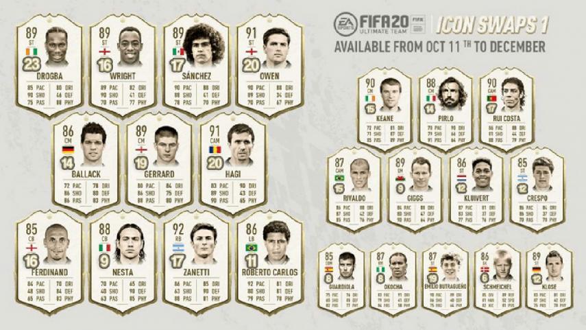 FIFA 21 ICON Swaps